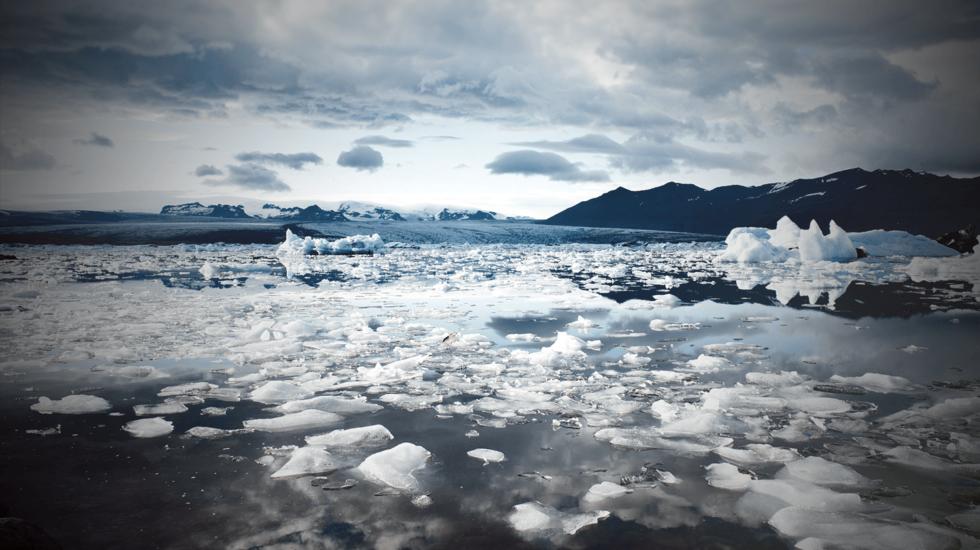 Glaciers melting