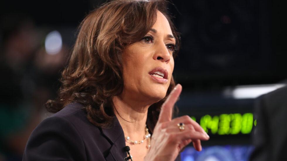 Sen. Kamala Harris (D-CA) at Thursday night's debate.